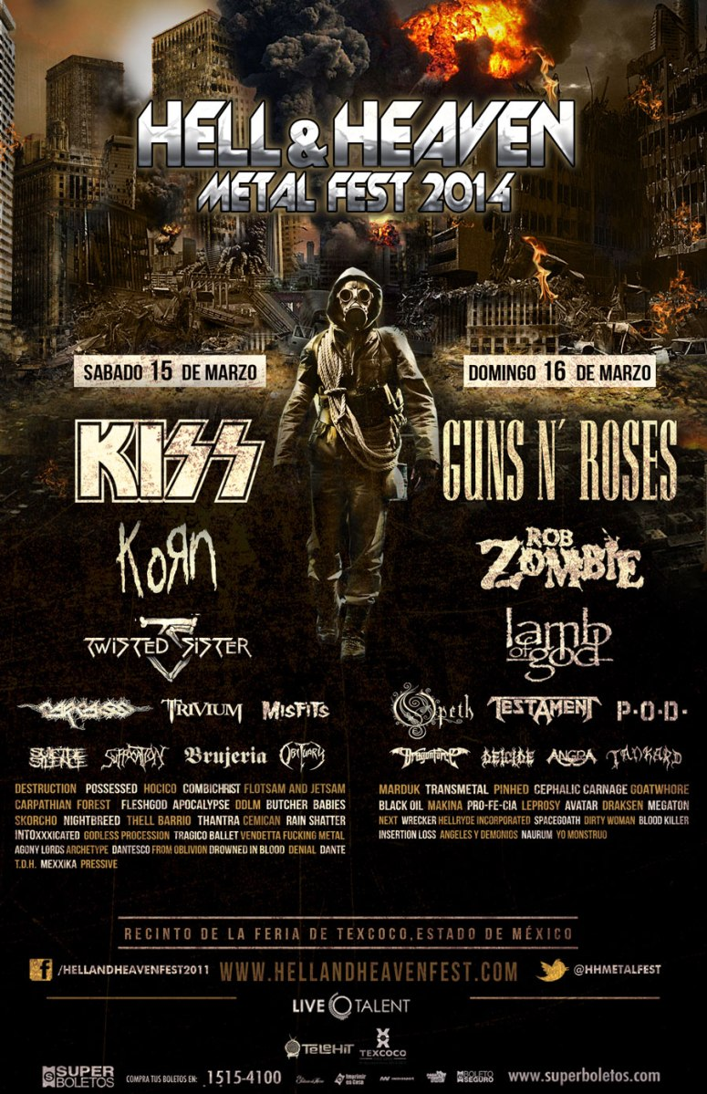 Mexico Stops Hell And Heaven Metal Fest